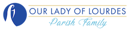 Our Lady of Lourdes Parish Family | Dunedin, Florida Logo